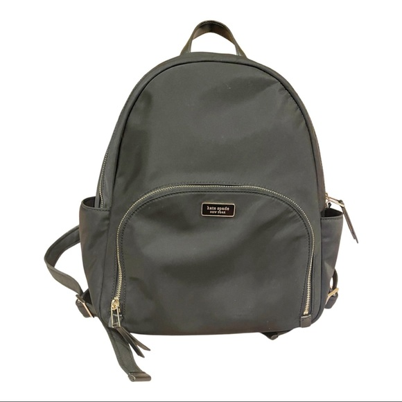 Black Kate Spade Dawn - Large Backpack (Nylon)